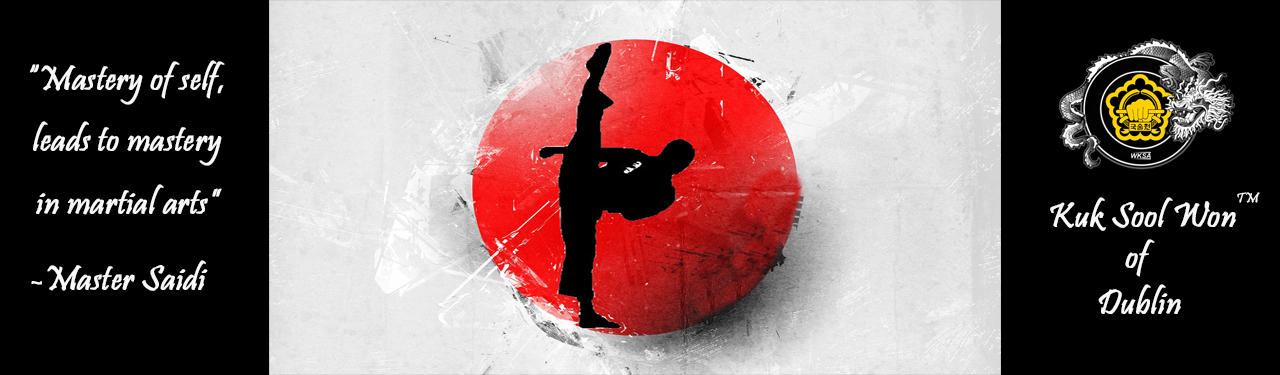 Wordpress header red ball kick quote